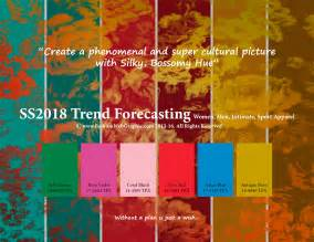 summer colors spring summer 2018 trend forecasting is a trend color