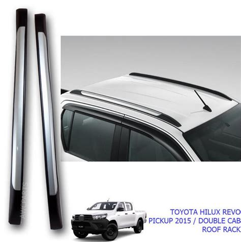 Toyota Hilux Roof Rails High Quality Car Styling Roof Rack Side Bar Rails For