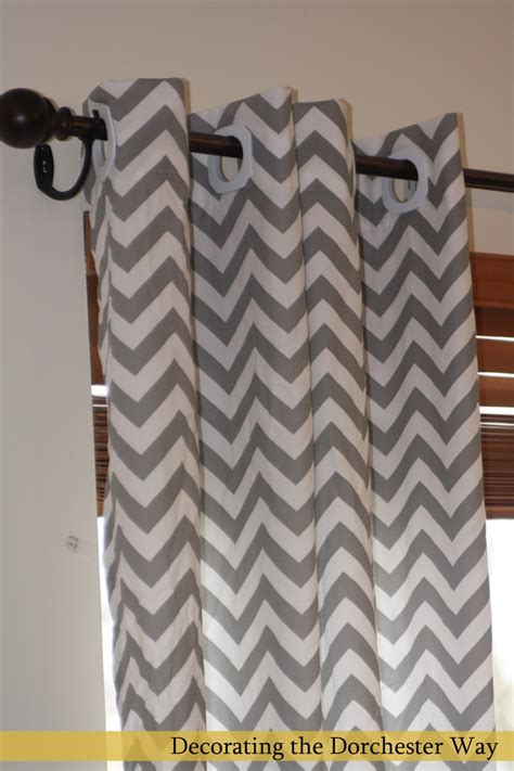 chevron gray curtains grey chevron curtains future home ideas pinterest