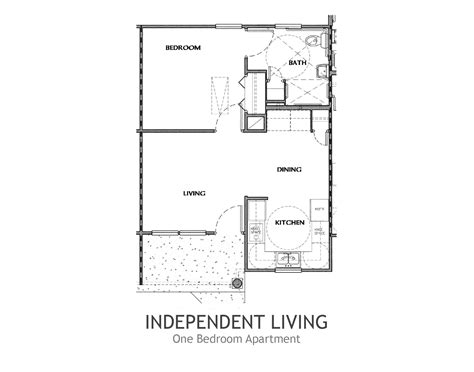 Small Apartment Floor Plans One Bedroom by Walton Housing For People With Disabilities