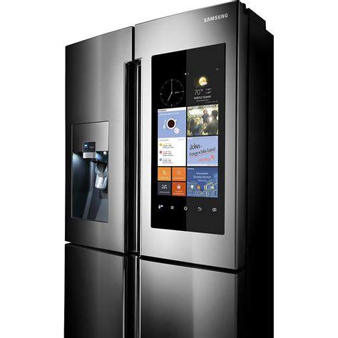 Samsung Appliances Rf22k9581sr Samsung Appliances 36 Quot 22 Cu Ft Counter Depth 4 Door Flex Refrigerator With