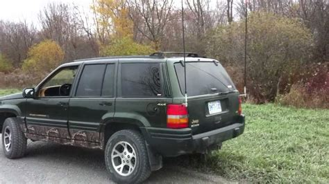 camo jeep grand cherokee camo 1997 jeep zj grand cherokee youtube