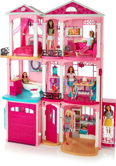 barbies dream house new barbie dolls and playsets available on amazon dreamhouse malibu ave fashionistas