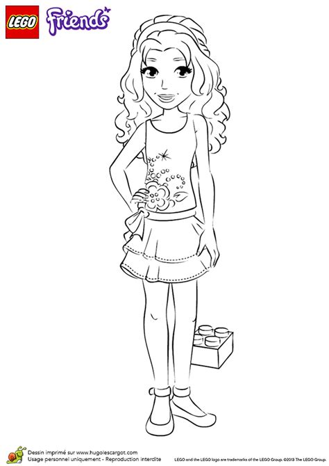coloring pages lego friends lego friends coloring pages coloring home