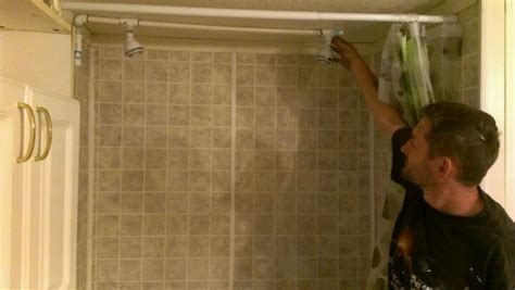 dual shower diy dual shower for roughly about 20 my ideas of