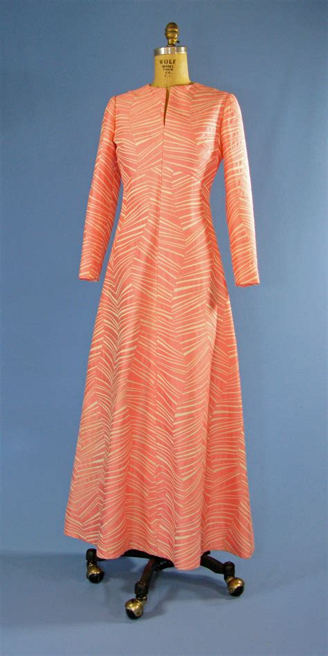 Rbl Binadia Brocade Dress Pink file betty ford s pink and white brocade gown jpg wikimedia commons