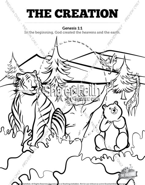 genesis coloring pages sunday school the creation story sunday school coloring pages sunday