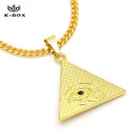 horus illuminati illuminati necklace egytian pyramid eye of horus