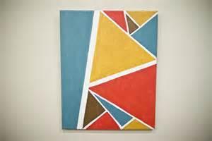 diy easy geometric painting melissa diane