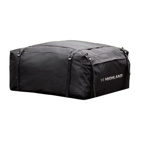 highland weather resistant car top carrier with storage