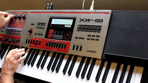 Keyboard Casio Xw G1 casio xw p1 xw g1 moog inspired set