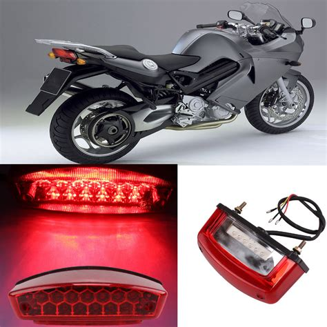 Universal Motorcycle Led Brake Tail Light Turn Signal Led Brake Light Motorcycle