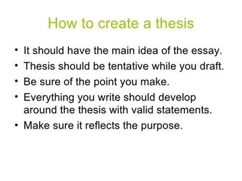 how to make a clear thesis statement followeth help me create a thesis statement began evan