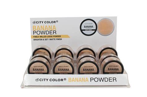 City Color Banana Powder wholesale city color banana powder cosmetics f 0066