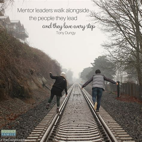 how to a to walk the lead how to be a mentor leaderhow to be a mentor leader dungy family foundation
