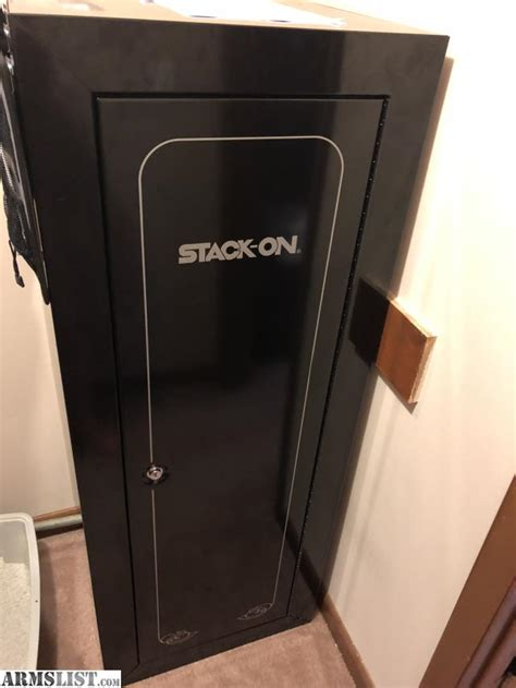 stack on 18 gun cabinet armslist for sale stack on security plus 18 gun