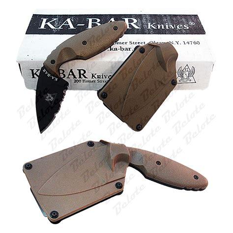 tdi knives ka bar kabar tdi enforcement knife coyote brown 1477cb