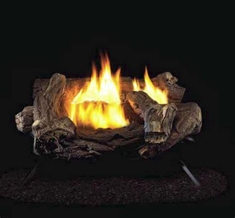 Remote Gas Fireplace Logs by Procom Split Hickory Ventless Gas Logs Remote Ready 18