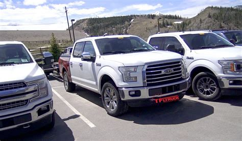 2018 ford f150 diesel check out 2018 ford f 150 diesel prototypes tow testing in the mountains prototype