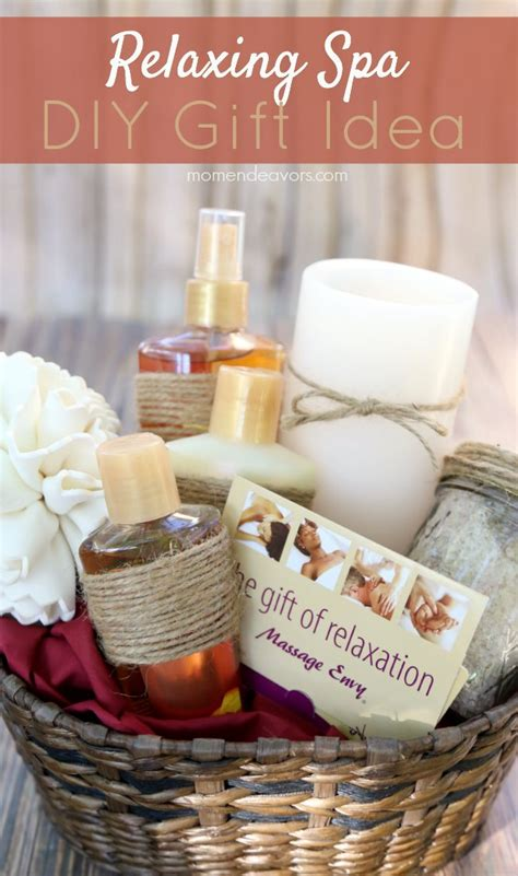 diy spa gifts relaxing spa diy gift basket a great gift for