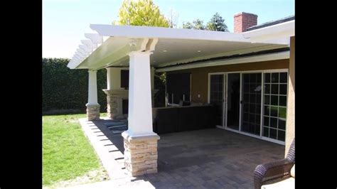 diy louvered patio cover house attached patio roof plans crunchymustard