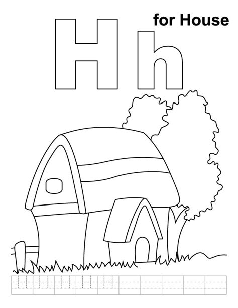 coloring pages for letter h letter h coloring pages az coloring pages