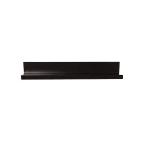 Black Picture Ledge Shelf by Home Decorators Collection 23 6 In W X 3 5 In D X 4 5 In