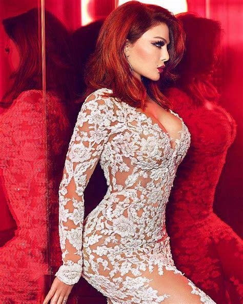 hayfa wehbi haifa wehbe sizzles in a red hot photoshoot bellebeirut