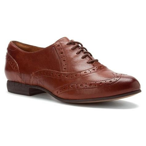 clarks womens oxford shoes clarks brogue womens leather flat oxford casual