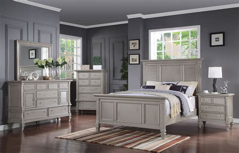gray bedroom furniture brimley 4 piece queen bedroom set grey levin furniture