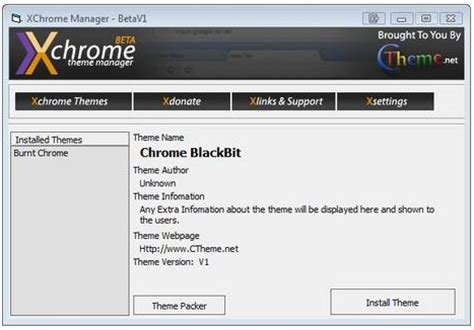 chrome themes manager chrome themes manager manage and install custom chrome