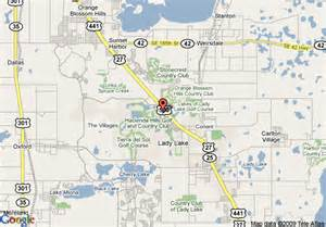 map of comfort suites the villages lake