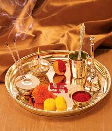 Home Decor Items In India borosil brass puja thali buy borosil brass puja thali