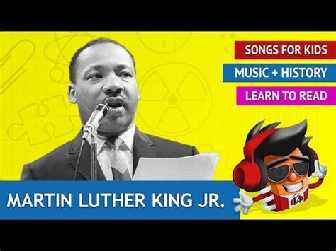 martin luther king jr song history songs for kids asurekazani