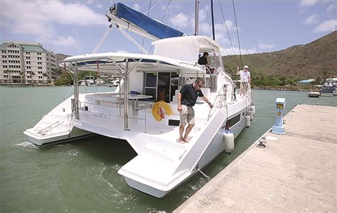 catamaran sailing part 5 catamaran sailing part 2 handling under power yachting