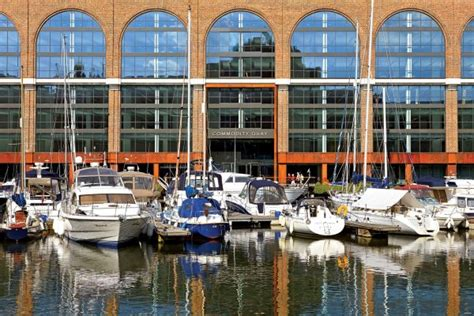 st katharine docks boat show 2017 it s all about the luxury at london on water 2017 ybw