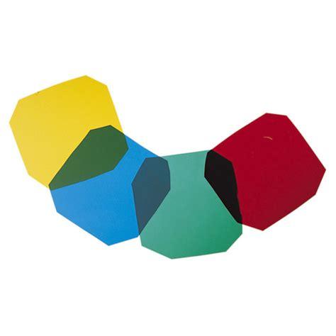 Gekleurde Gel by Disc Electrovision Pakje 4 Primaire Gekleurde Gel
