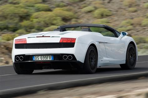 convertible lamborghini 2013 lamborghini gallardo reviews and rating motor trend
