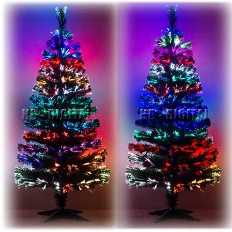 weihnachtsbaum led glasfaser k 252 nstlicher tannenbaum