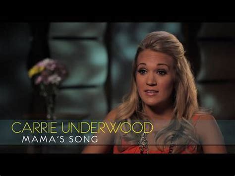 carrie underwood songs youtube carrie underwood interview quot mama s song quot youtube