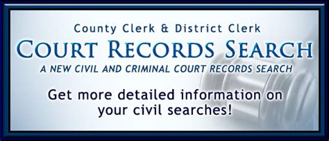 County Clerk Of Courts Records Bexar County District Clerk