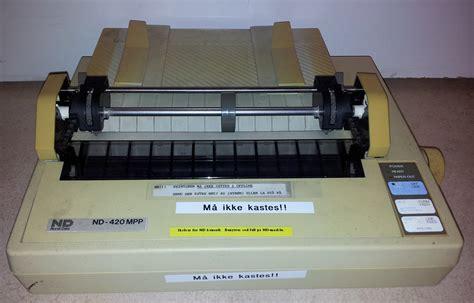 Printer Epson Lx 800 1 4 6 1 norsk data printer epson