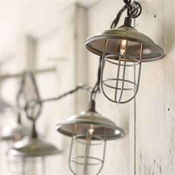 industrial lantern string lights on sale home decor