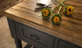 rustic wood countertops reclaimed and distressed