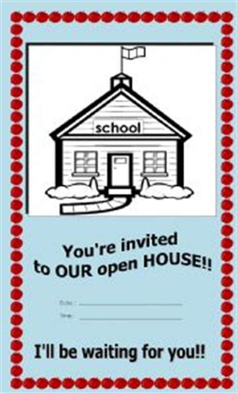 printable open house invitations school english worksheets open house invitation