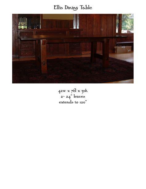 Custom Dining Room Table ellis dining table mike devlin furniture design