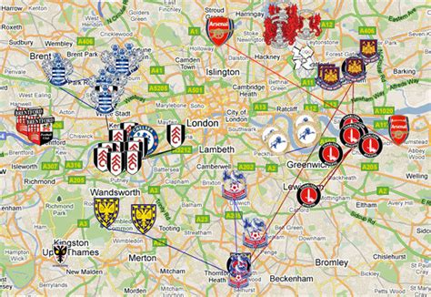 map uk football clubs mapped s moving football clubs londonist