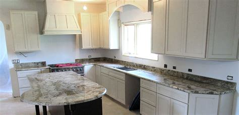 Kitchen Backsplash Materials granite kitchen countertop w 4 backsplash amp custom bevel