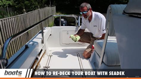 how to re deck your boat with seadek youtube - Deck Your Boat