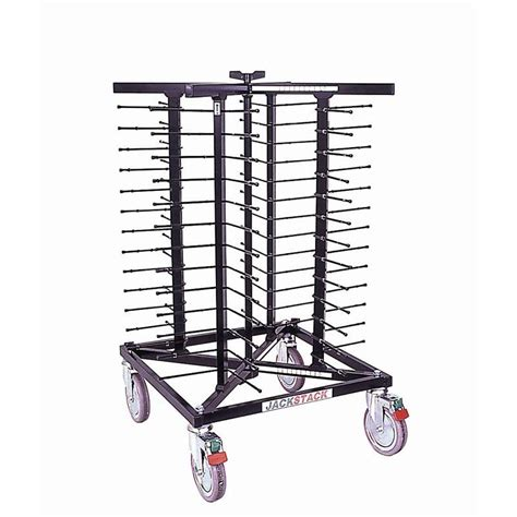 Stacked Plate Rack by Xxlselect Mobile Plate Rack Jackstack 52 Boards 24x70cm